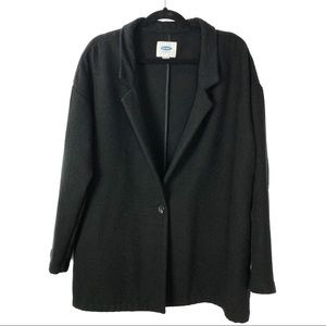 OLD NAVY coat with single button size L
